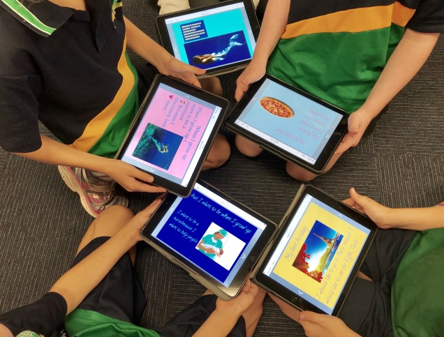 Book Creator Project - Teaching with the iPad