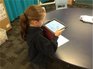 Step 2 - Take your photo - Teaching with the iPad