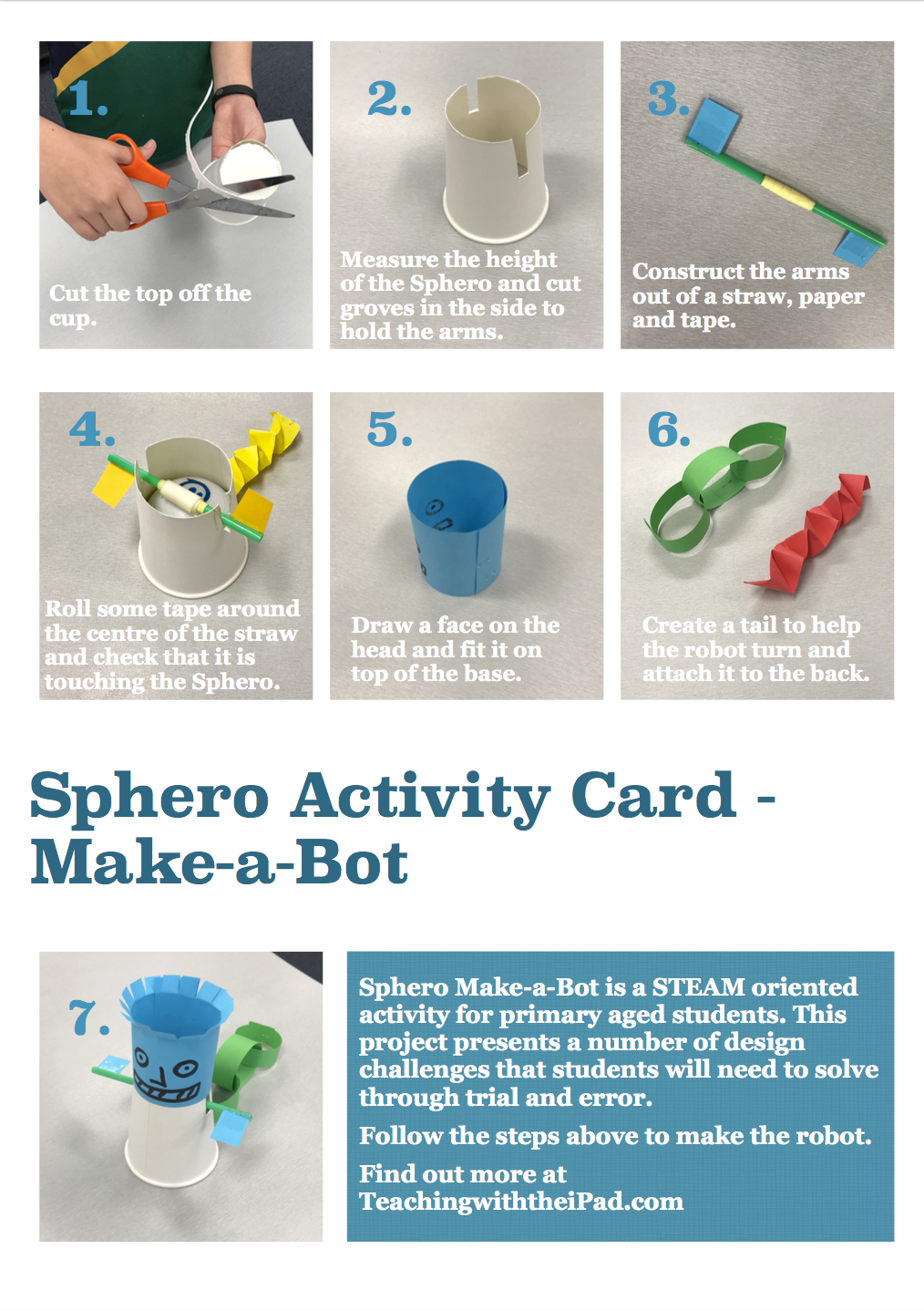 Sphero Construction Projects | Teaching with the iPad