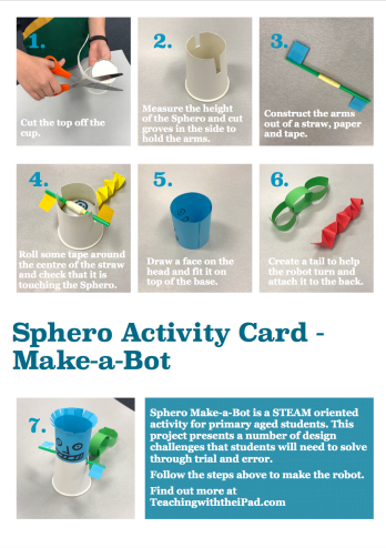 Sphero Make-a-Bot Activity Card