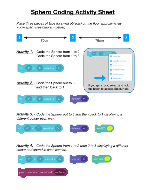 Sphero Beginner Coding image