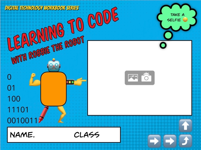 Learning to code with Robbie the Robot