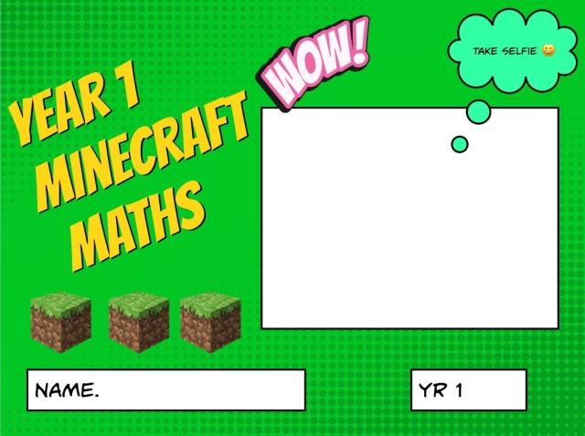 Year 1 Minecraft Maths